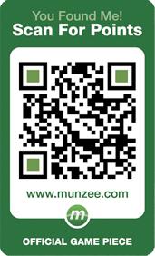 A Munzee card
